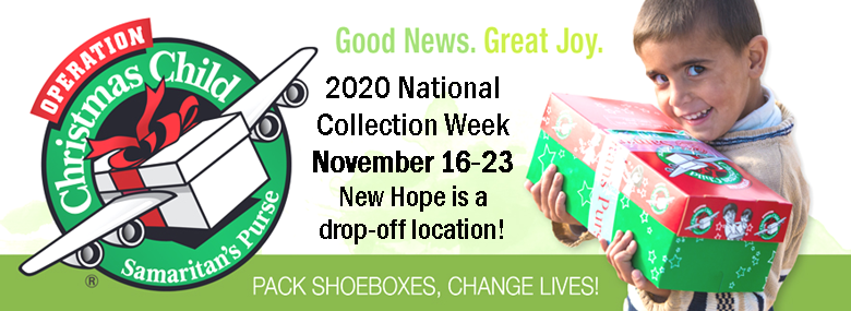 Operation Christmas Child Drop Off Locations 2020 Operation Christmas Child   New Hope Baptist Church